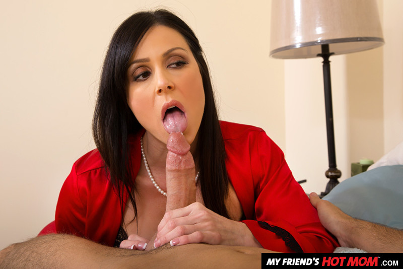 Family friend Kendra Lust fucking in the bed with her petite
