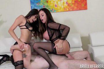 Ariella Ferrera in Threesome with Sammy Parker [Openload Streaming]