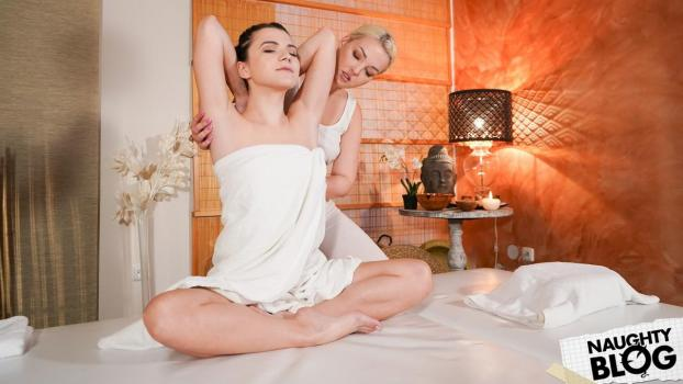 Massage Rooms – Lovita Fate & Hayli Sanders [Openload Streaming]