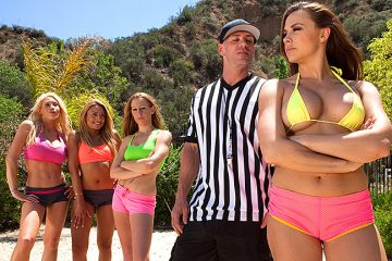 Hot and Sweaty Volleyballs Chanel Preston & Johnny Sins [Openload Streaming]