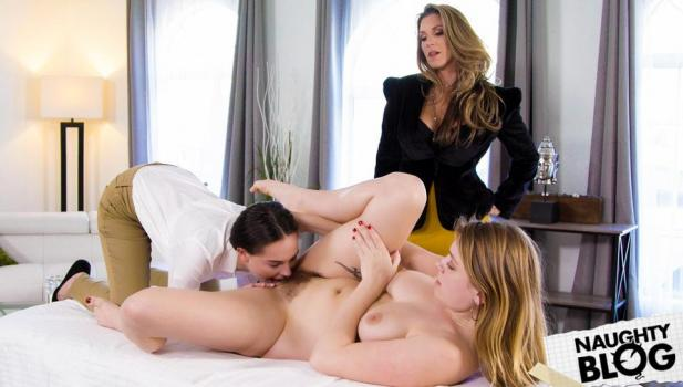 All Girl Massage – Giselle Palmer, Kayla Paige & Aften Opal [Openload Streaming]