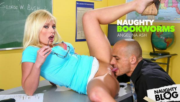 Naughty Bookworms – Angelina Ashe [Openload Streaming]