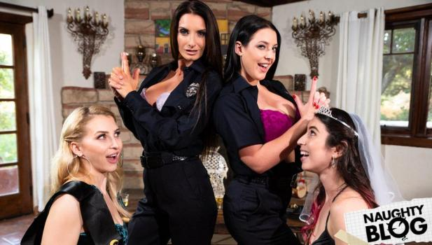 Girls Way – Alix Lynx, Serena Blair, Angela White & Silvia Saige [full length porn]