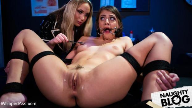 Whipped Ass – Aiden Starr & Gia Derza [full length porn]