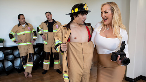 Brandi Love – Red-Hot Calendar Shoot [full length porn]