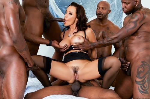 Lisa Ann's Interracial DP BBC Gangbang [Openload Streaming]
