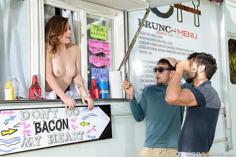 When The Food Truck Is A Rockin'… Sean Lawless & Alex Blake [XXX FREE]