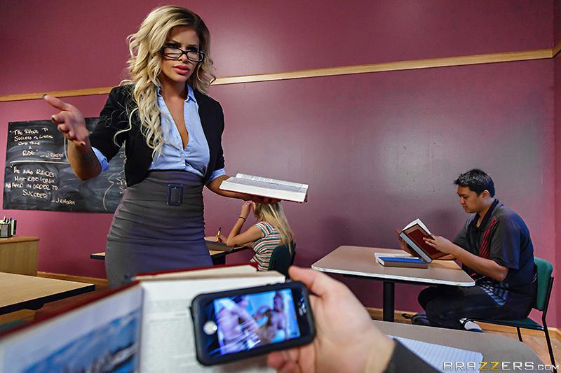 My Professor's A Pornstar! Jessa Rhodes & Jessy Jones [XXX FREE]