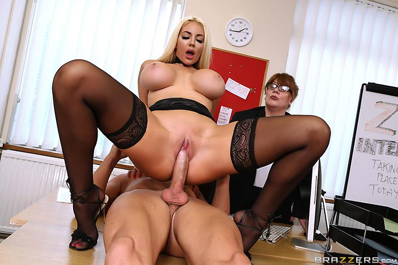 Testing Her Concentration 2 Nicolette Shea & Marc Rose's [XXX FREE]