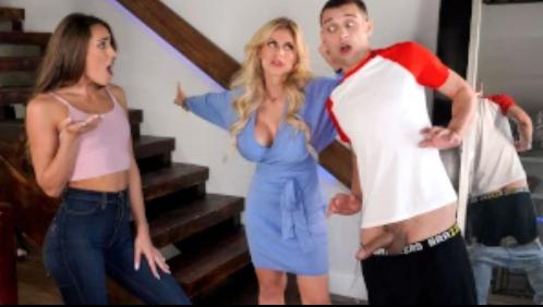 College Couple Gets Caught MacKenzie Mace, Casca Akashova, Johnny The Kid [XXX FREE]